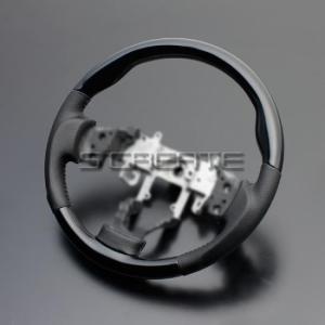 ワゴンR(MH23S) ピアノブラック&ガングリップ ステアリング|screate