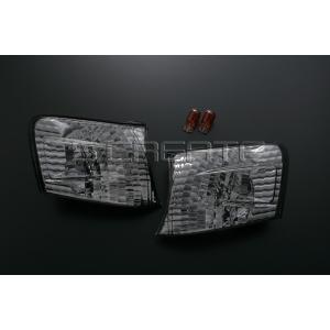 チェイサー (JZX100系) クリスタルコーナーレンズ スモークタイプ|screate