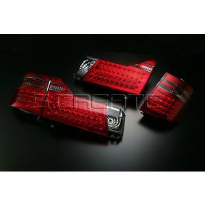 圧巻の美しさ!アルファード(10/15系) 前期用 LEDコンビテールランプ|screate