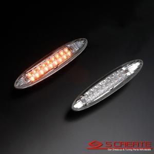 クラウン(S18#系) LEDクリスタルサイドマーカー ウィンカー / ウインカー winker|screate