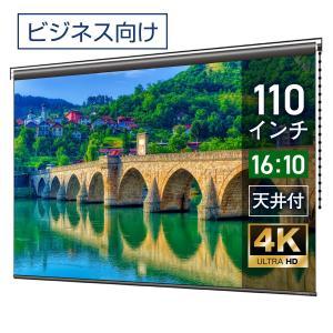 プロジェクタースクリーン チェーンスクリーン 110インチ(16:10) マスクフリー BCH2369FEH screen-theaterhouse