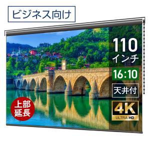 プロジェクタースクリーン チェーンスクリーン 110インチ(16:10) マスクフリー ロングタイプ BCH2369FEH-H2500 screen-theaterhouse