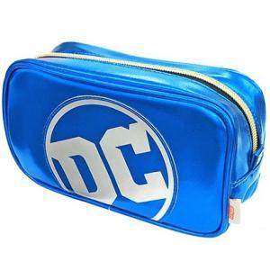 DC COMIC アイコン スクエアポーチ ジャスティスリーグDCロゴ|screenstore