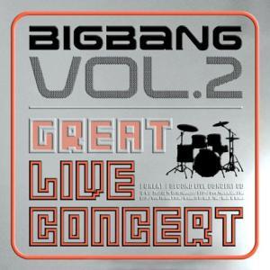 BIGBANG ビッグバン 2nd ライブコンサート アルバム The Great CD 韓国盤