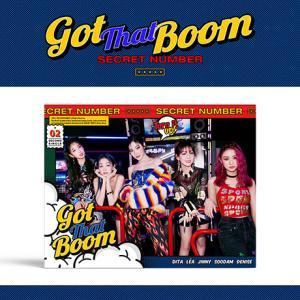 SECRET NUMBER 2ndシングル - Got That Boom CD (韓国盤)|scriptv