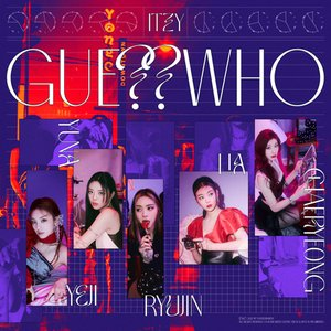 ITZY - GUESS WHO CD (韓国盤)の画像