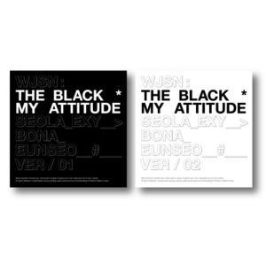 【予約】WJSN (宇宙少女) THE BLACK シングル - My attitude (ランダム...