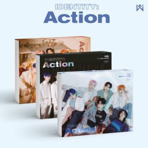WEi 3rd ミニアルバム - IDENTITY : Action CD (韓国盤)の画像
