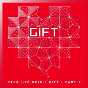 パク・ヒョシン 6集 Gift Part 2 CD 韓国盤