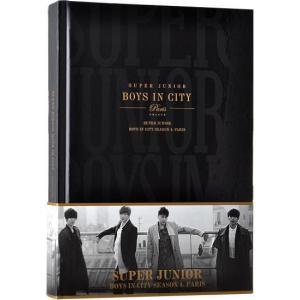 SUPER JUNIOR BOYS IN CITY SEASON 4 PARIS 写真集 通常版 韓国版 scriptv