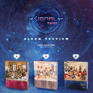 Twice 4thミニアルバム - Signal CD (韓国盤)