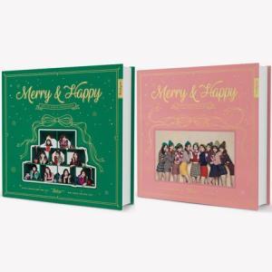 Twice 1集 リパッケージ - Merry & Happy CD (韓国盤)