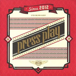 BTOB 2ndミニアルバム - Press Play CD (韓国版)|scriptv