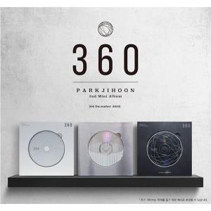 パク・ジフン 2ndミニアルバム - 360 CD 韓国盤 scriptv