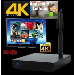 高画質4Kパソコン/4KメディアプレーヤーAndroid 5.1.1 TV DAZN(ダ・ゾーン)アプリ対応|scs