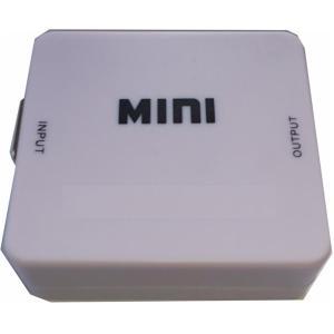 VGA HDMIコンバーター1080Pフルハイビジョン対応テレビモニター映像ステレオ音声アップスケー...