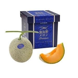 富良野プラチナメロン 特秀品 約2kg 1玉|scsjapan