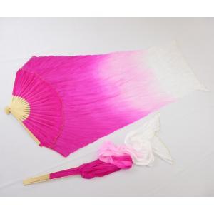 シルクファンベール (ピンク〜ライトピンク〜ホワイト)グラデーション|sdf
