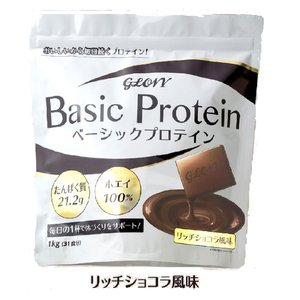 GLOVY ベーシックプロテイン リッチココア風味 1kg|sdfitnessweb