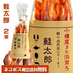NSニッセイ 自然派鮭ジャーキー 鮭太郎(38g)2個セット|PASSIOS PayPayモール店