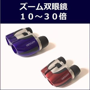 コンパクトズーム双眼鏡 ミザール SZ-21 10倍-30倍×21ミリ ズーム双眼鏡 ★オシャレなメタリックカラー!|sds-alpha