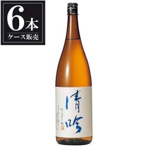 送料無料 日本酒 越の誉 吟醸酒 清吟 1.8L 1800ml x 6本(ケース販売)(原酒造 新潟県)|se-sake