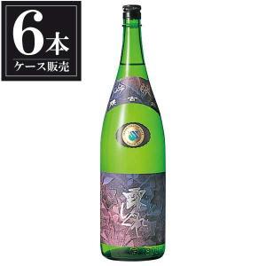 送料無料 日本酒 腰古井 吟醸 露しぐれ 1.8L 1800ml x 6本(ケース販売)(吉野酒造 千葉県)|se-sake
