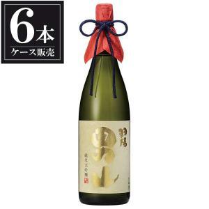 送料無料 日本酒 羽陽男山 純米大吟醸 美山錦 1.8L 1800ml x 6本(ケース販売)(男山酒造/山形県) se-sake