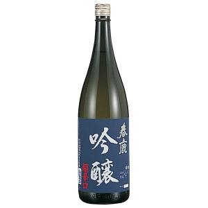 日本酒 春鹿 吟醸 超辛口 1.8L 1800ml (今西清兵衛商店 奈良県)|se-sake