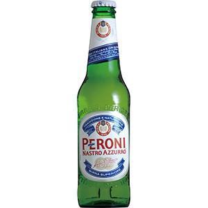 ペローニ ナストロアズーロ (瓶) 330ml x 24本(ケース販売) (同梱不可)