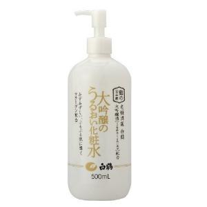 白鶴 鶴の玉手箱 大吟醸のうるおい化粧水 500ml