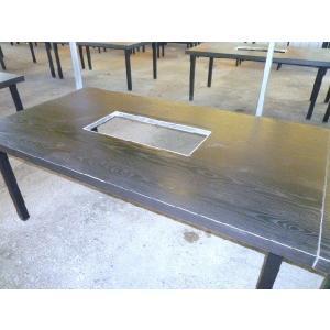 バーベキューテーブル(6人用) 特製コンロ付き...