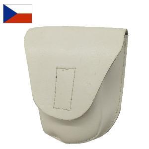 セール中 チェコ軍ホワイトレザーカフケース|seabees