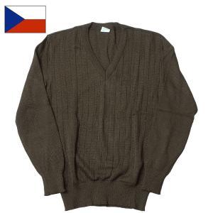 セール中 WEBプライス チェコ軍 Vネックセーター|seabees