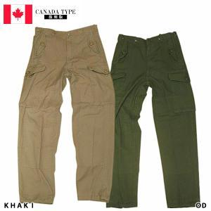 WEBプライスSALE カナダ軍タイプファティーグパンツOLD WASH!!【TKA】 seabees