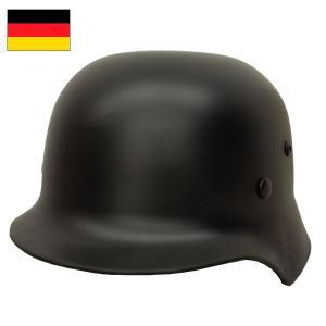 セール中 ドイツ軍タイプ M-35スチールヘルメット ブラック グレー seabees