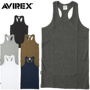 1点ならメール便送料無料 AVIREX #6143503 デイリーシリーズ リブタンクトップ メンズ 6色 S-XL seabees