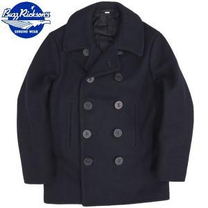 セール中 BUZZ RICKSON'S BR11554 PEA COAT NAVAL CLOTHING FACTORY 1910's MODEL|seabees