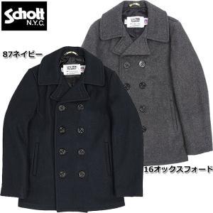 ノベルティープレゼント 20%クーポン Schott #7118 SCH−753 US Pコート 24oz 【日本正規販売店】 seabees