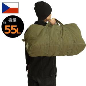 セール中 チェコ軍 トラベルバッグ オリーブ USED|seabees