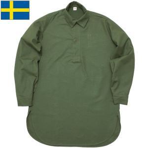 セール中 スウェーデン軍 M-55 プルオーバーシャツ デッドストック seabees