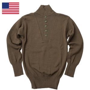 米軍 5ボタン セーター デッドストック|seabees