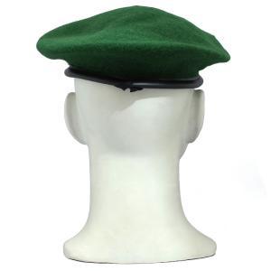 メール便OK YMCLKYオリジナル フランス軍タイプ ベレー帽  ライトグリーン オリーブ レッド ブラック|seabees|03