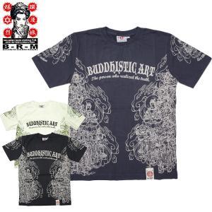 爆裂爛漫娘[B-R-M]RMT-173 半袖Tシャツ 『神群』 オフホワイト ネイビー ブラック【TKA】 seabees