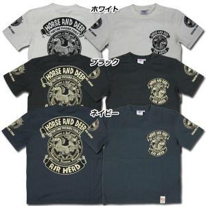 爆裂爛漫娘[B-R-M]RMT-189 半袖Tシャツ 『馬鹿』 ホワイト ブラック ネイビー【TKA】 seabees