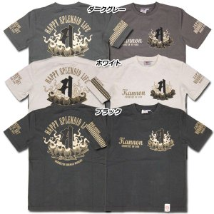 爆裂爛漫娘[B-R-M]RMT-188 半袖Tシャツ 『梵字』 ホワイト ダークグレー ブラック【TKA】 seabees