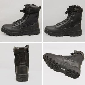 BLACK TAC COBRA type SWAT タクティカルブーツ サイドジッパー ブラック【TKA】 seabees 02