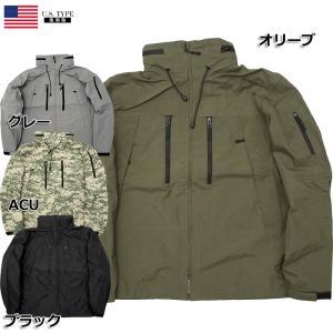 米軍タイプ ECWCS PCUジャケット オリーブ ブラック グレー ACU