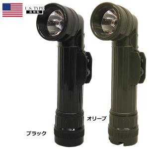 米軍タイプ L型ライト Lサイズ ブラック オリーブ|seabees