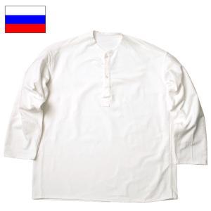 ロシア軍 スリーピングシャツ ウィンター ホワイト USED seabees